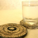 Recycled Paper Coaster A1